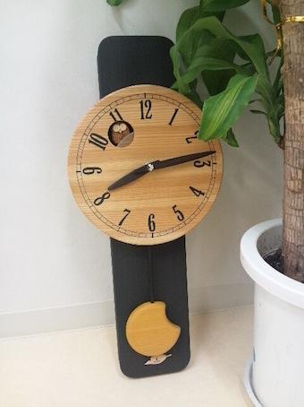 ふくろう時計